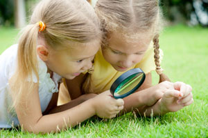 La vie à l'école Montessori - observation à la loupe